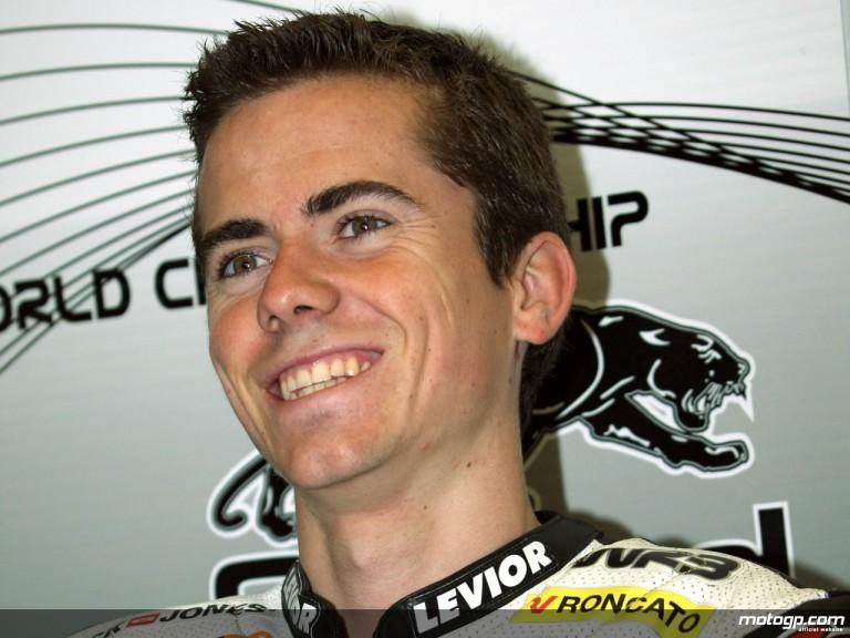 125cc Rider Nicolas Terol