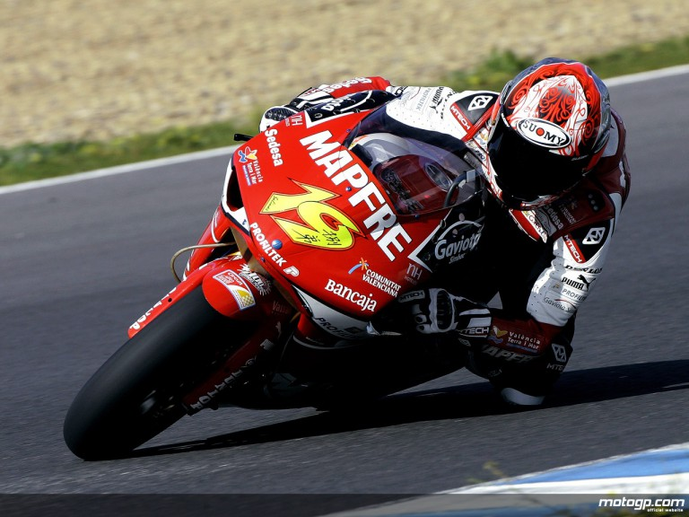 Alvaro Bautista on track in Jerez Test (250cc)