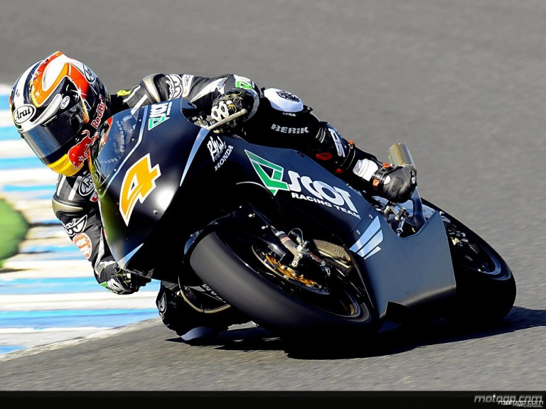 Hiroshi Aoyama in action in Jerez (250cc)