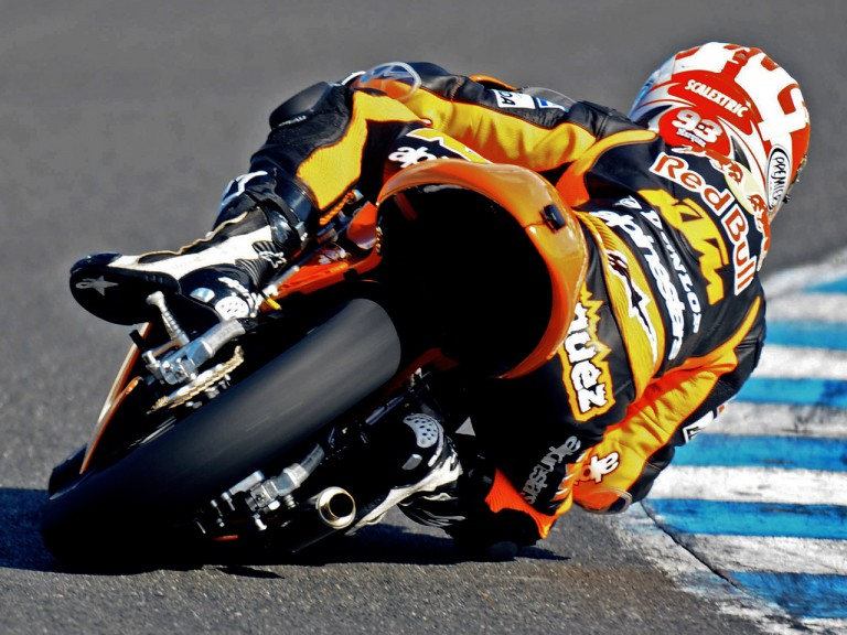 Marc Marquez in action at Jerez Test (125cc)