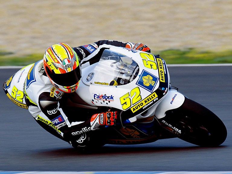 Lukas Pesek on track at Jerez Test (250cc)