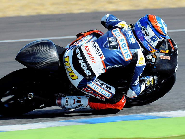 Esteve Rabat on track at Jerez Test (125cc)
