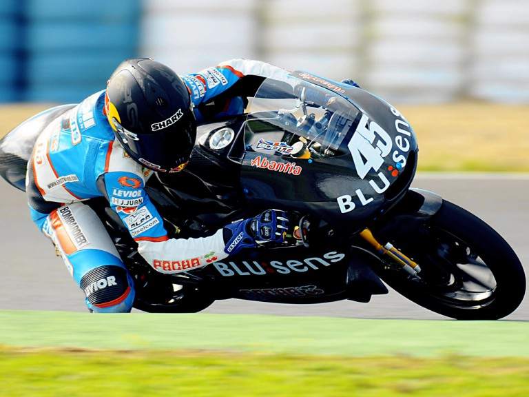 Scott Redding at Jerez Test (125cc)