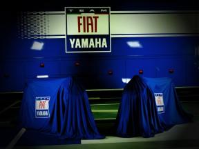 Fiat Yamaha's YZR-M1 unveiling