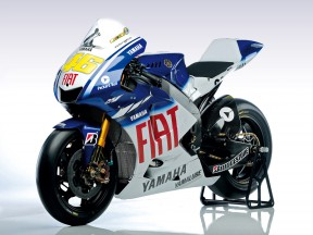 Fiat Yamaha unveils the new 2009 YZR-M1