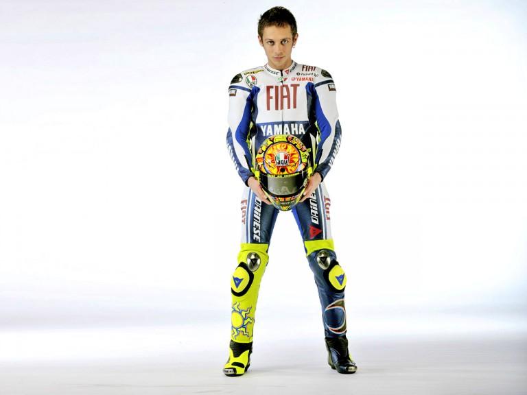 Fiat Yamaha #46 rider and MotoGP World Champion Valentino Rossi