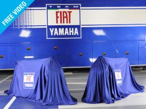 Fiat Yamaha unveil the new 2009 YZR-M1