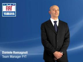 Daniele Romagnoli – Fiat Yamaha online presentation