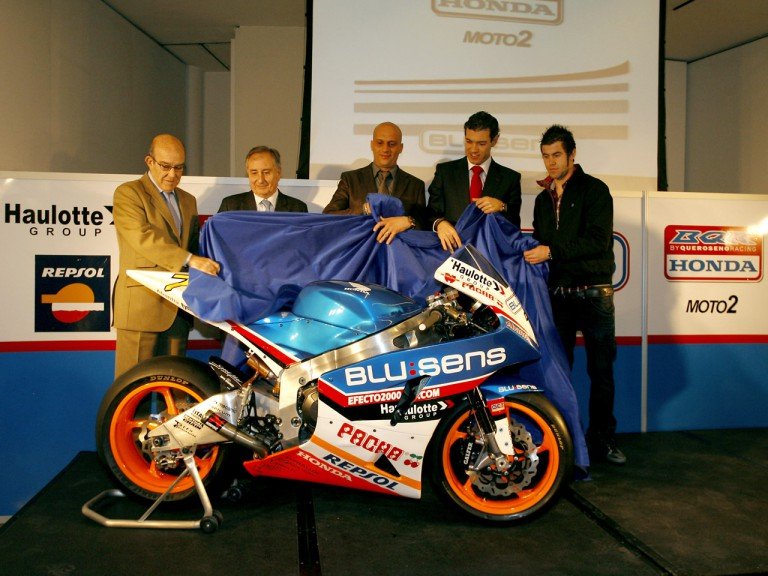 Honda-BQR Moto2 presentation in Madrid