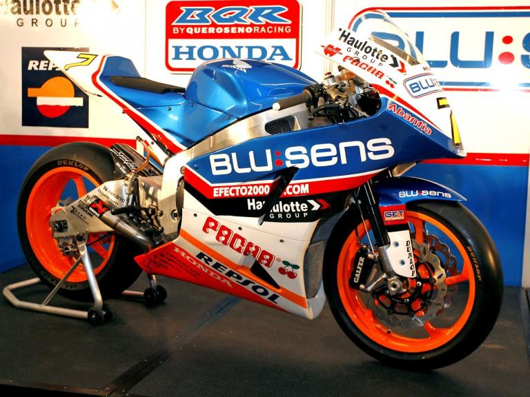 Honda-BQR Moto2 presentation