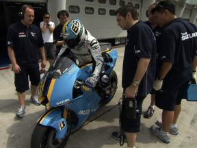 Sepang Test 2009: Day One Highlights