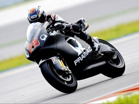 Mika Kallio on track at Sepang test