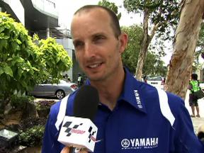 Edwards on new YZR-M1 debut