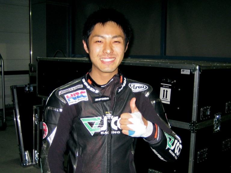 Yuki Takahashi on the Qatar Night Test