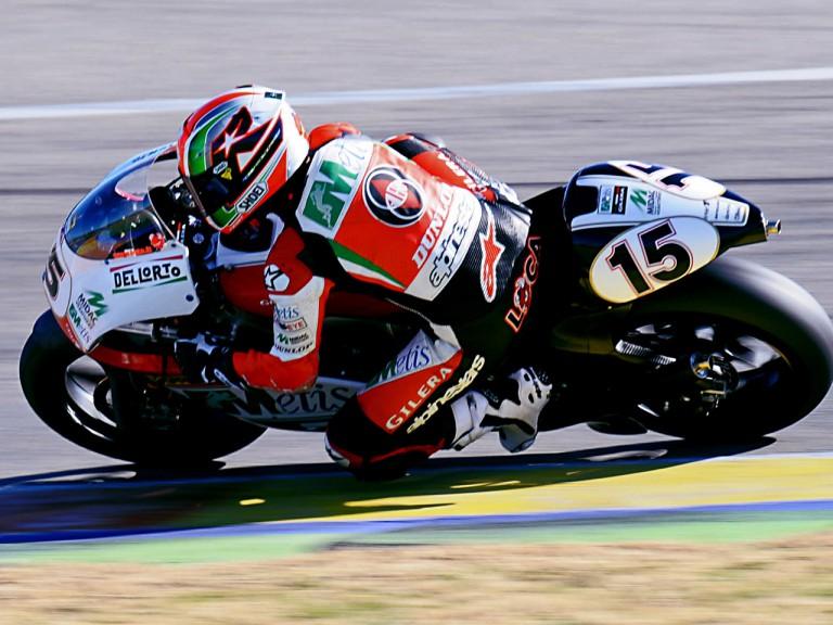 Roberto Locatelli ontrack at Valencia test
