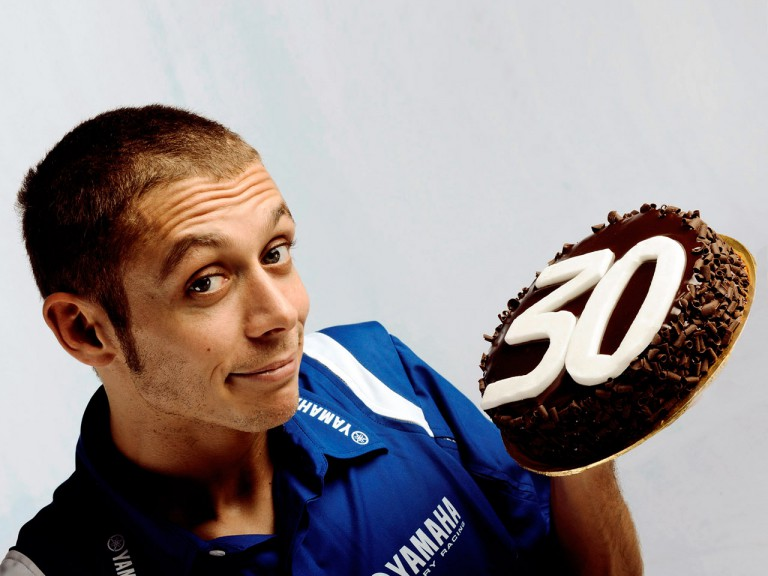 MotoGP World Champion Valentino Rossi turns 30