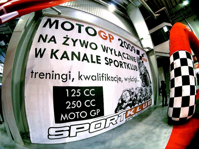 Sportklub announce MotoGP deal at Warsaw Bike Show