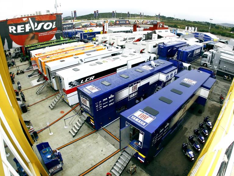 MotoGP paddock