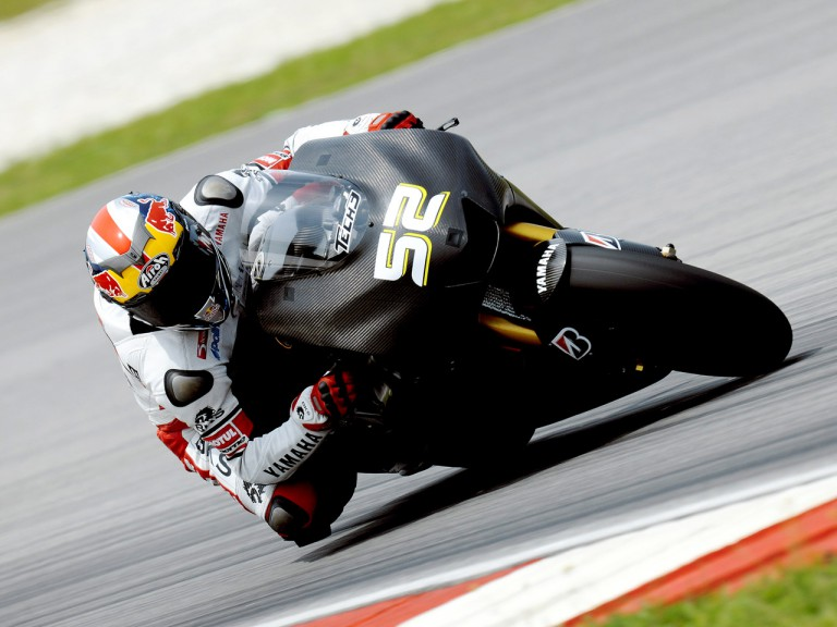 James Toseland on track
