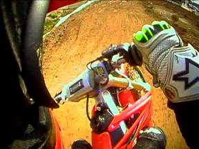 Motocross training OnBoard with Toni Elias