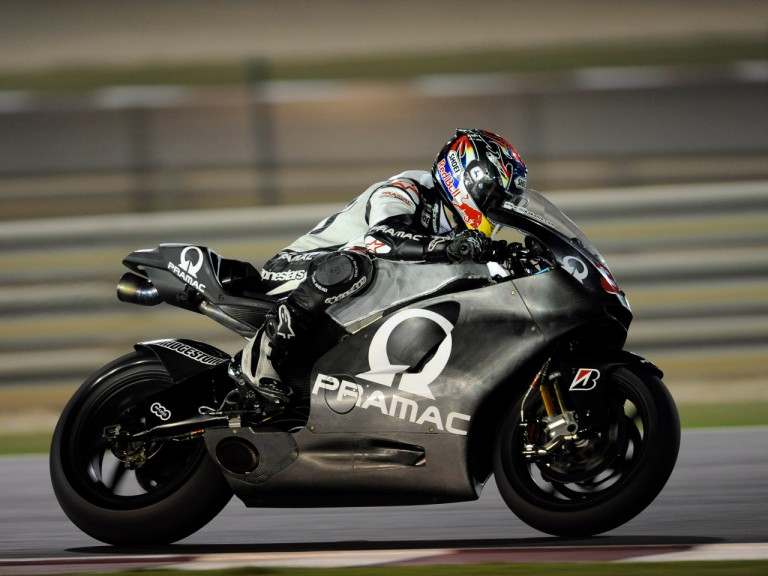 Mika Kallio at the Qatar Night Test in Losail