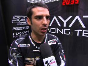 Melandri explains fast adaptation in Qatar