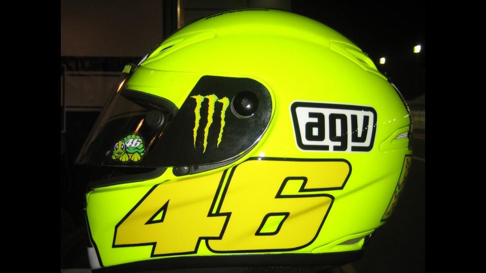 motogp.com · Valentino Rossi new helmet