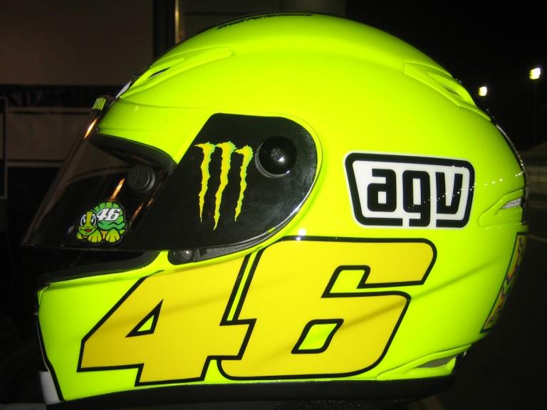 Valentino Rossi new helmet