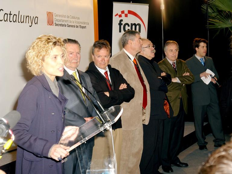 Parcmotor Castellolí inauguration