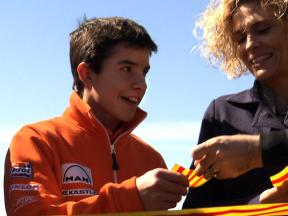 Marc Marquez at Spanish track inauguration