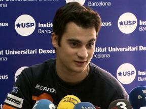 Dani Pedrosa hospital press conference