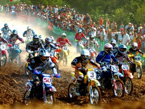 Motocross action at the new Castellolí Parcmotor venue in Catalunya