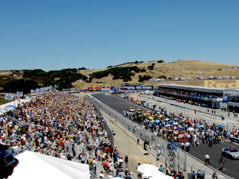 General view of Laguna Seca
