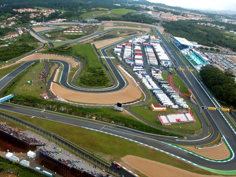 Aerial shot of Estoril Circuit