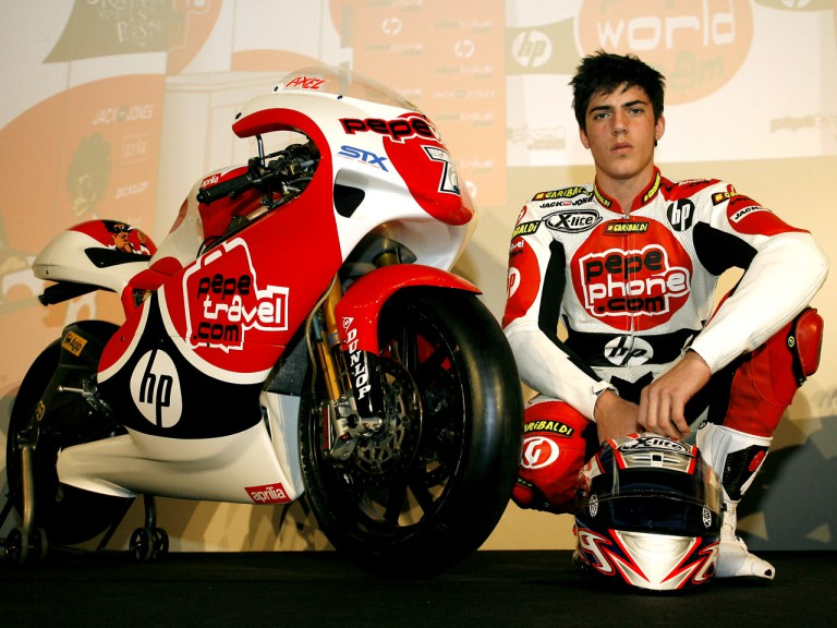 Axel Pons at the Pepe World Team Presentation