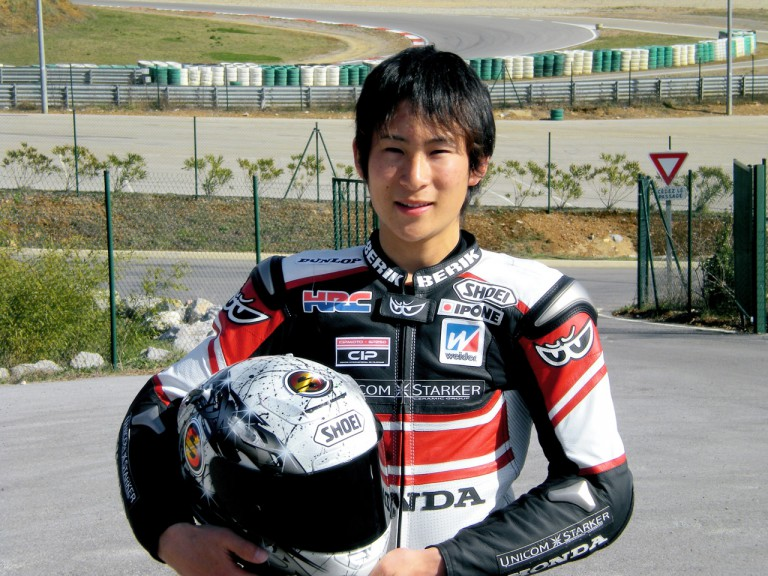 New japanese rider Shoya Tomizawa in France
