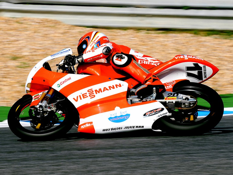 Stefan Bradl on track at Estoril Tests