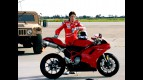 Nicky Hayden promotes safe riding with U.S. armed forces