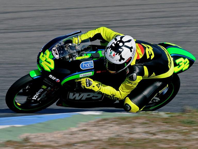 Lorenzo Savadori on track at Estoril Test