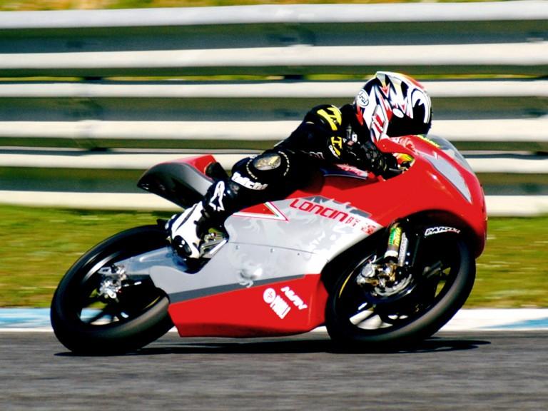 Tomoyoshi Koyama in action at Estoril Test