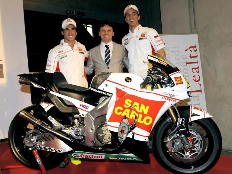 San Carlo Honda Gresini Presentation