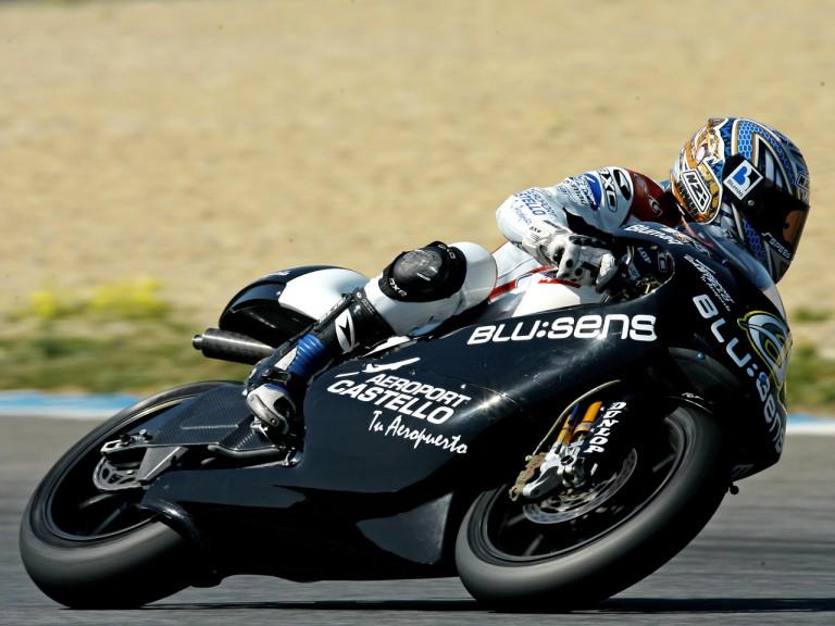 Álex Debon on track at Estoril Test