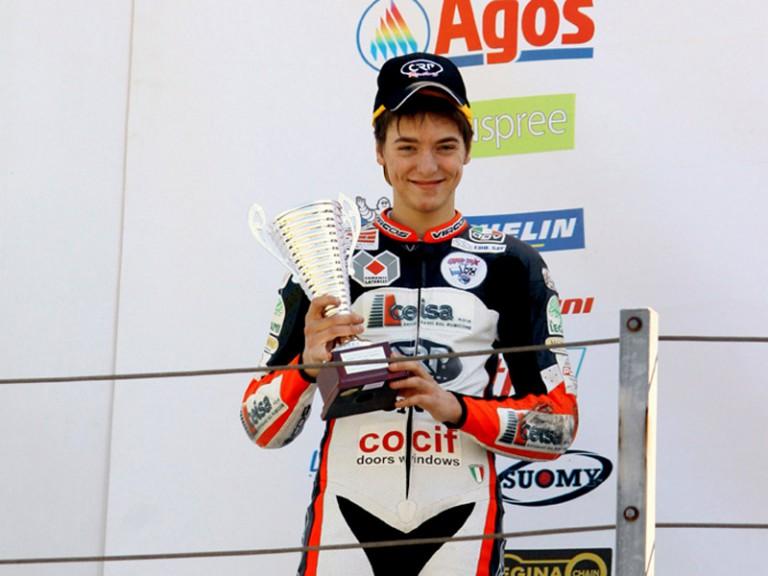 Luca Marconi takes CIV podium in Misano