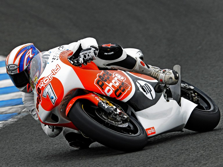 Axel Pons on track at Official Test in Jerez