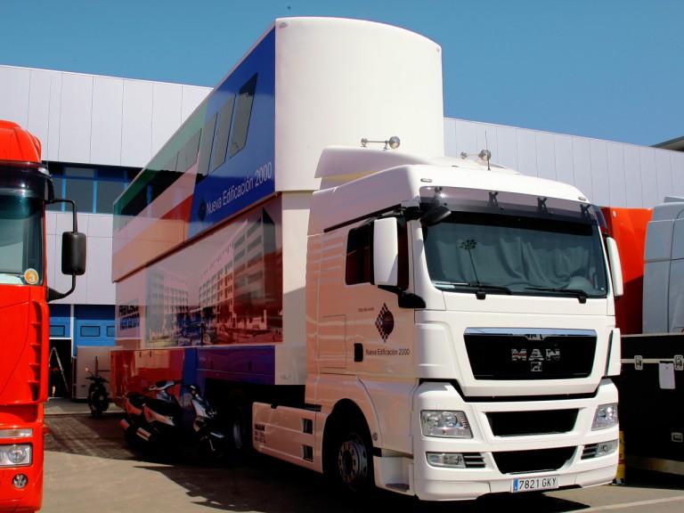 Grupo Francisco Hernando truck at Jerez test