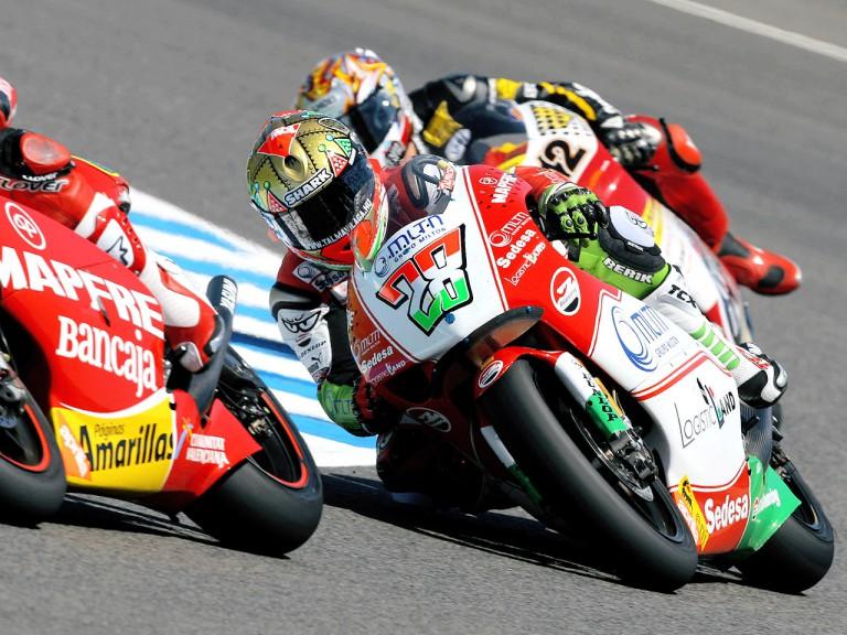 Gabor Talmacsi in action in Jerez