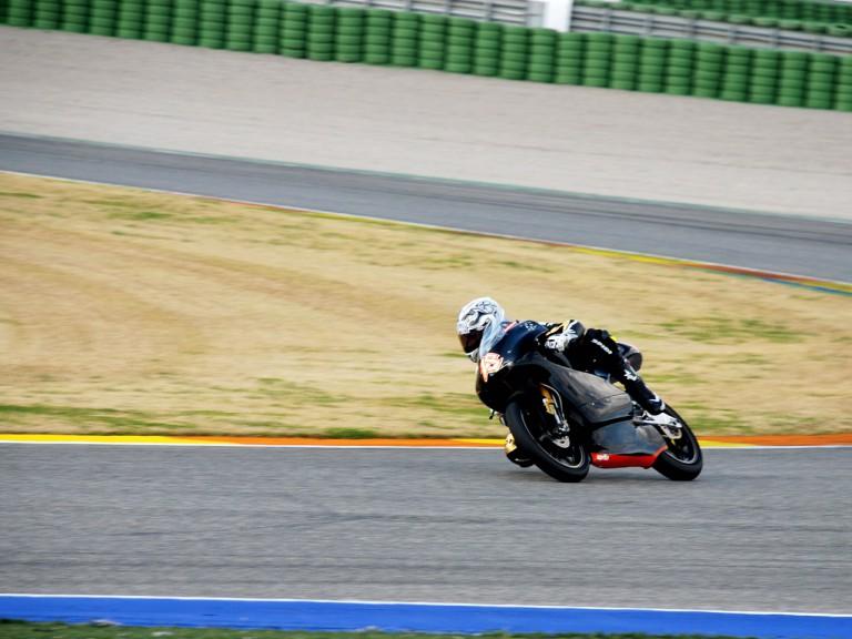 Nicolas Terol on track