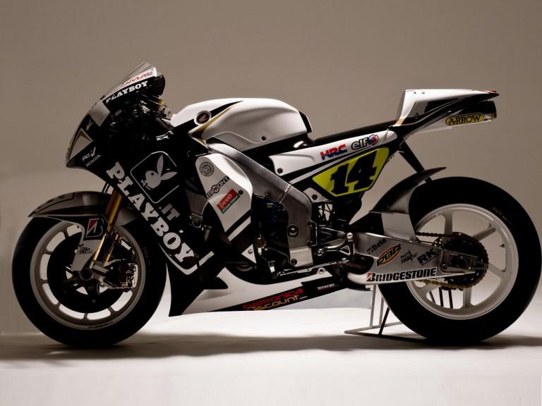 LCR Honda with new Playboy sponsorship