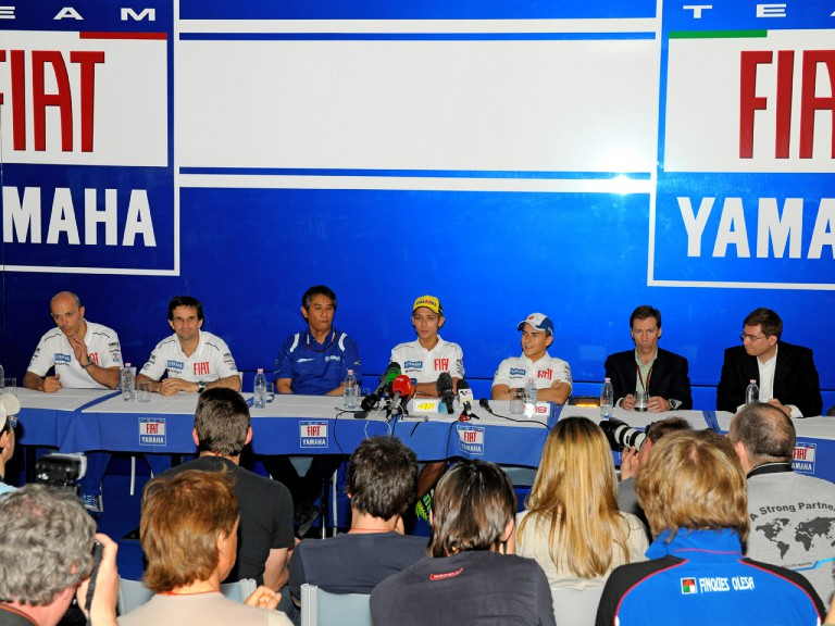 Fiat Yamaha Press conference