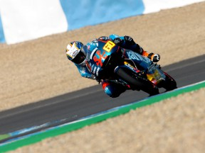 Julian Simon on track at Official Test in Jerez